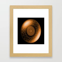 Sacral Orange   Chakra Framed Art Print
