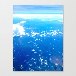 Clouds of Pompei #2 Canvas Print
