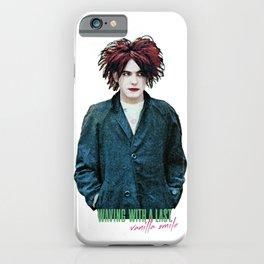 Robert Smith - Vanilla Smile iPhone Case