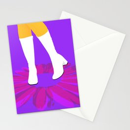 Girly Boots #5 Stationery Cards