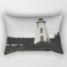Big Tub Lighthouse Rectangular Pillow