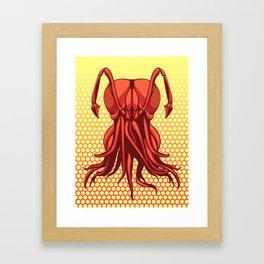 Squid Antsquid - Ant Mutant Framed Art Print