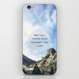 Colorado Mountains iPhone Skin