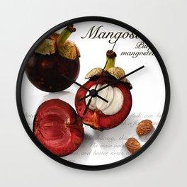 Mangostino Wall Clock