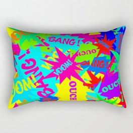 Neon Comics Rectangular Pillow