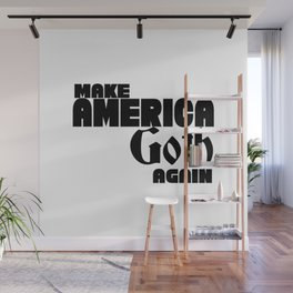 Make America Goth again. Donald Trump Wall Mural