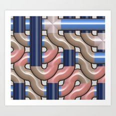 Pipeline Art Print