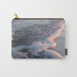 Sea Foam at Sunset Carry-All Pouch