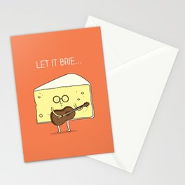 Let it brie... Stationery Cards