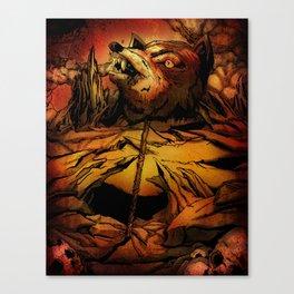 ROTTING EARTH Canvas Print