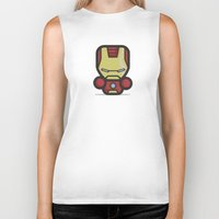ironman Biker Tanks featuring Ironman by MaNia Creations
