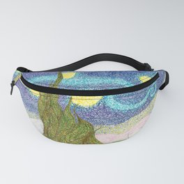 Starry Night inspired by Vincent van Gogh Fanny Pack