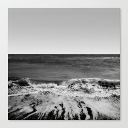 BEACH DAYS XVI BW Canvas Print
