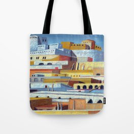 the fortress Tote Bag