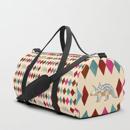 Harlequin Dino Duffle Bag