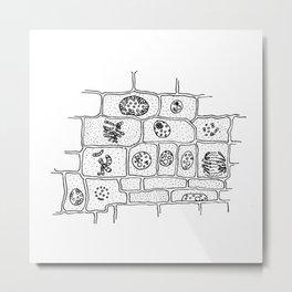 Cell Division Metal Print