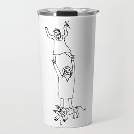 How Jesus helped me to win Satan during my first communion Travel Mug