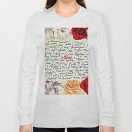 Love injected Long Sleeve T-shirt