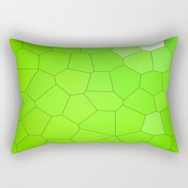 Abstract Animal - Green. Rectangular Pillow
