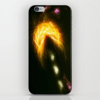 pac man iPhone & iPod Skins featuring Pac Man by Zirothar