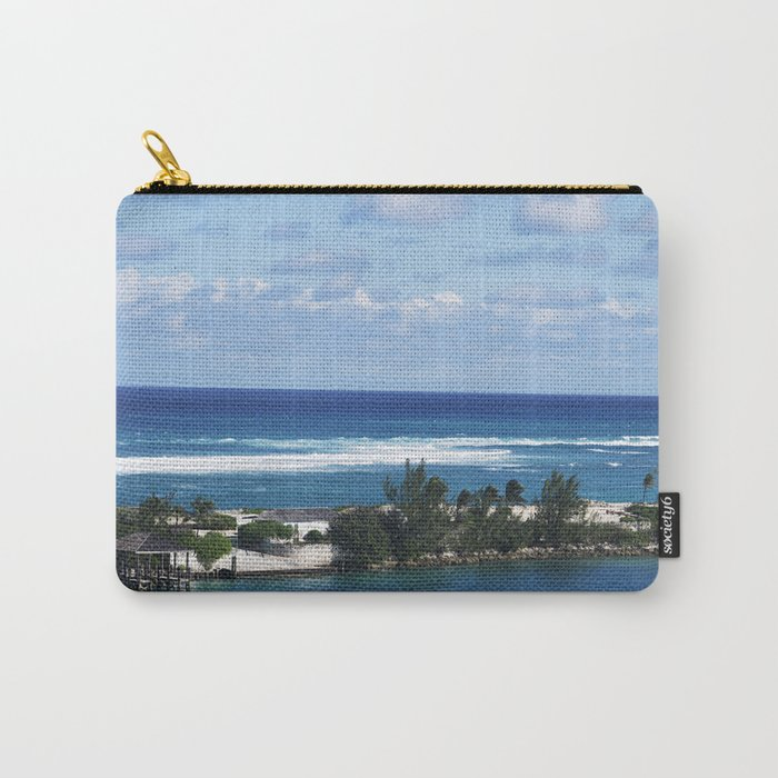 Bahamas Cruise Series 97 Carry-All Pouch