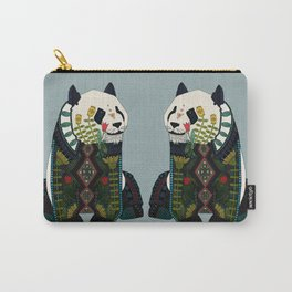 panda silver Carry-All Pouch