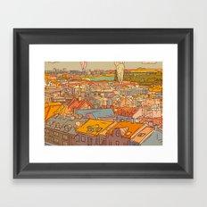 Budapest digital 1. Framed Art Print