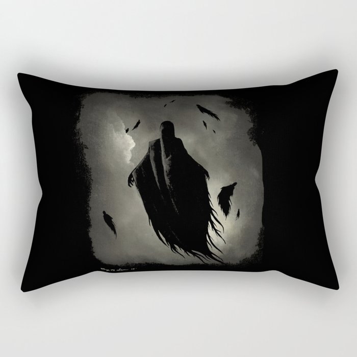 Dementors - HarryPotter | Painting Rectangular Pillow