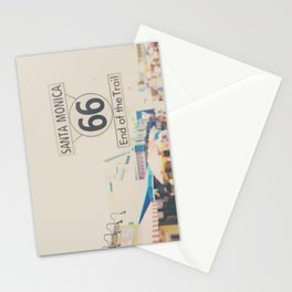 the end of route 66 ... Stationery Cards