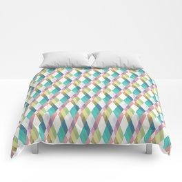 Pastel Diamonds Comforters