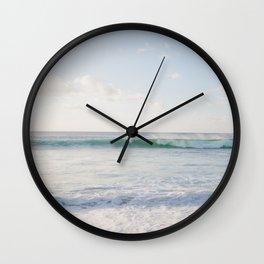 Hawaiian Golden Hour Wall Clock