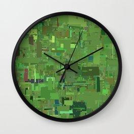 Series 9 - Oxidized Wall Clock
