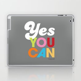 YES YOU CAN Laptop & iPad Skin