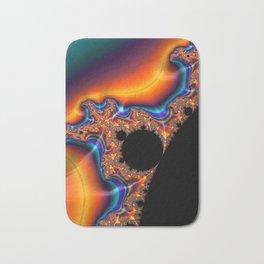 Coastal Sunset - Fractal Art Bath Mat