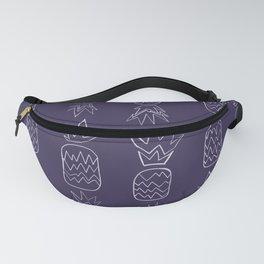 purple pineapples Fanny Pack