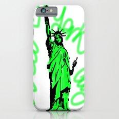 New York City Neon Green iPhone 6s Slim Case