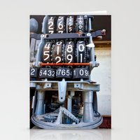 numbers Stationery Cards featuring Numbers by Kent Moody