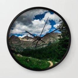 Chicago Basin Landscape Wall Clock