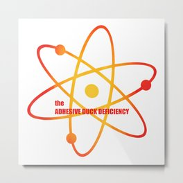 the Adhesive Duck Deficiency - Season 3 Episode 8 - the BB Theory - Sitcom TV Show Metal Print