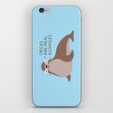 Seal of Reproval iPhone & iPod Skin