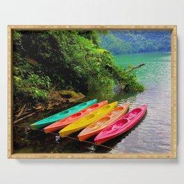 Kayak Serving Tray