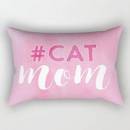 #CAT mom Rectangular Pillow