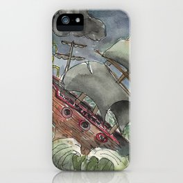 Dark and Stormy Night iPhone Case