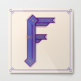 F is a fantasy Metal Print