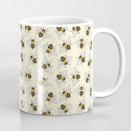 Busy Bees Pattern Coffee Mug