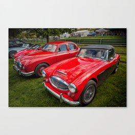 Austin Healey 3000 MK3 Canvas Print