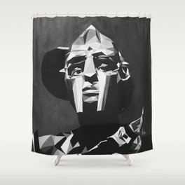 ALL CAPS Shower Curtain