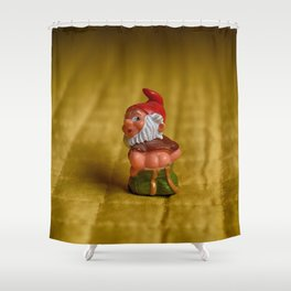 mischievous elf Shower Curtain