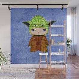 A Boy - Yoda Wall Mural