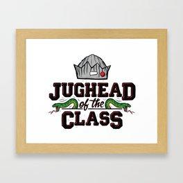 Jughead of the Class Framed Art Print